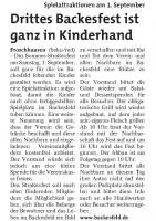 Seligenstädter Heimatblatt 15.08.2018