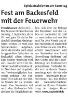 Seligenstädter Heimatblatt 29.08.2018